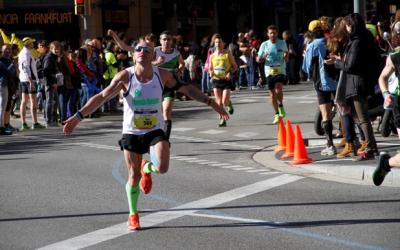 EL domingo 15 participé en mi tercera Maratón Zurich Barcelona